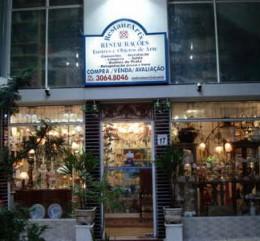 restaurarts fachada da loja de antiguidades